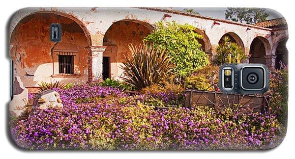 San Juan Capistrano Mission Flower Garden Galaxy S5 Case