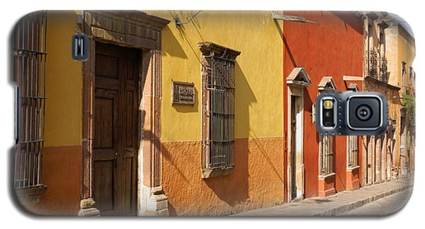 San Miguel Street Mexico Galaxy S5 Case by John  Mitchell