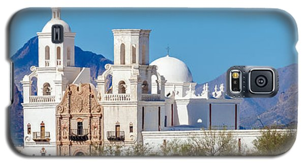 San Xavier Del Bac Mission Galaxy S5 Case by Ed Gleichman