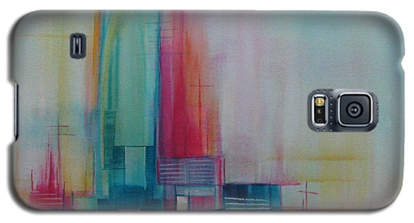 Galaxy S5 Case featuring the painting Sanctuary 10 by Elis Cooke