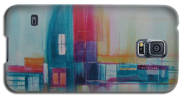 Galaxy S5 Case featuring the painting Sanctuary 11 by Elis Cooke
