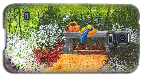 Galaxy S5 Case featuring the painting Sanctuary by Patricia Griffin Brett