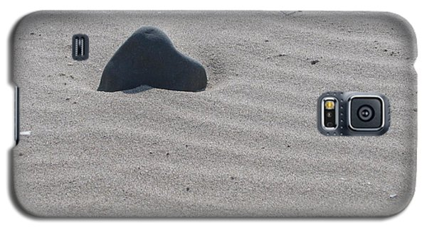 Galaxy S5 Case featuring the photograph Sand And Rock by Martin Blakeley
