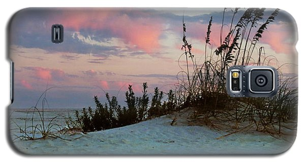 Galaxy S5 Case featuring the photograph Sand And Sunset by Deborah Smith