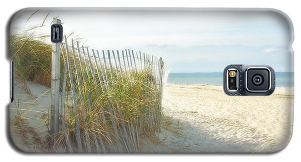 Sand Beach Ocean And Dunes Galaxy S5 Case by Brooke T Ryan