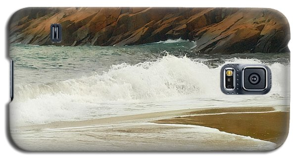 Galaxy S5 Case featuring the photograph Sand Beach by Raymond Earley
