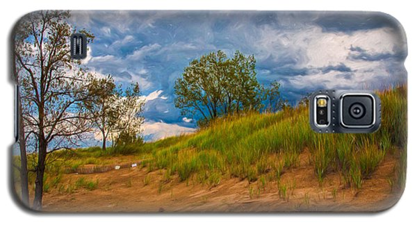 Sand Dunes At Indian Dunes National Lakeshore Galaxy S5 Case
