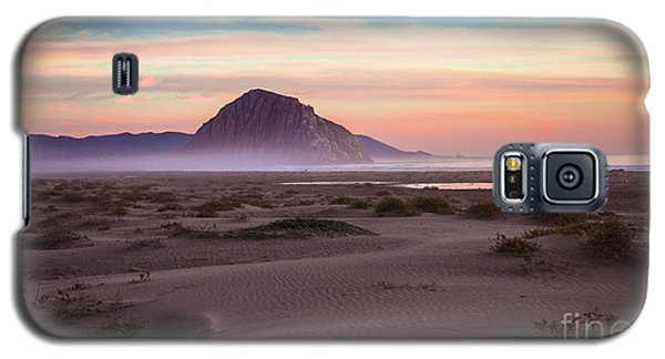 Sand Dunes At Sunset At Morro Bay Beach Shoreline  Galaxy S5 Case