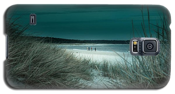 Sand Dunes On The Baltic Coast Of Oland At Boda Sand Sweden Galaxy S5 Case