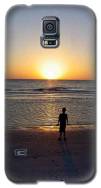 Galaxy S5 Case featuring the photograph Sand Key Sunset by David Nicholls