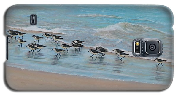 Sand Piper On Parade Galaxy S5 Case
