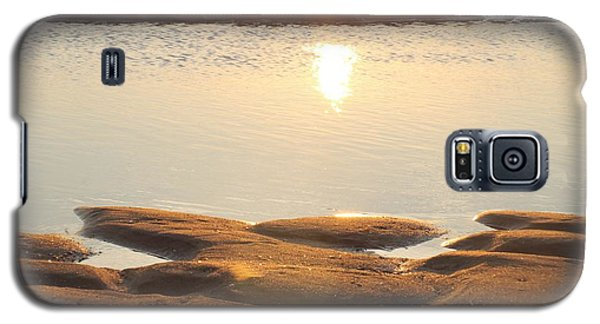 Galaxy S5 Case featuring the photograph Sand Shine by Robert Banach