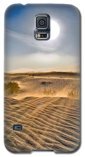 Sand Storm In The Mesquite Dunes 2 Galaxy S5 Case