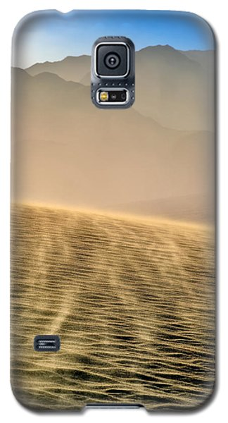 Sand Storm In The Mesquite Dunes Galaxy S5 Case