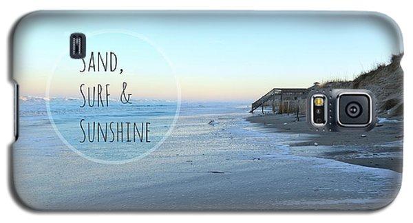 Sand Surf Sunshine Galaxy S5 Case by Robin Dickinson
