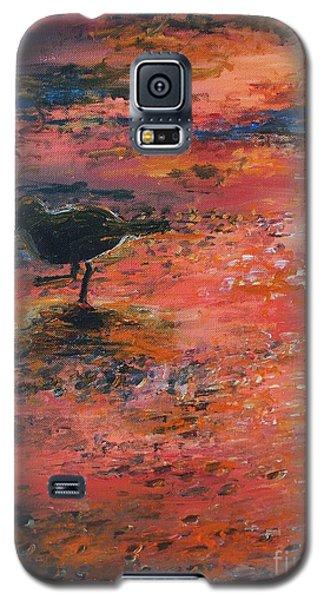 Sandpiper Cape May Galaxy S5 Case by Eric  Schiabor