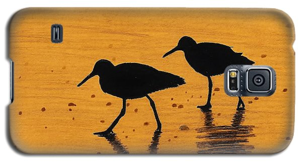 Sandpipers - At - Sunrise Galaxy S5 Case