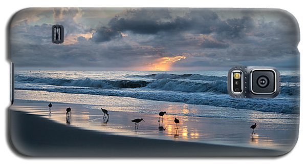 Sandpipers In Paradise Galaxy S5 Case by Betsy Knapp