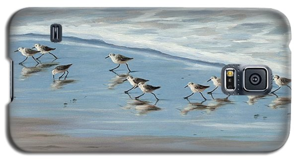 Sandpipers Galaxy S5 Case by Tina Obrien