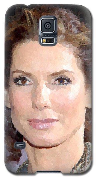 Sandra Bullock Portrait Galaxy S5 Case