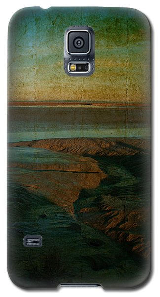 Galaxy S5 Case featuring the photograph Sands At Mount St Michael by Karo Evans