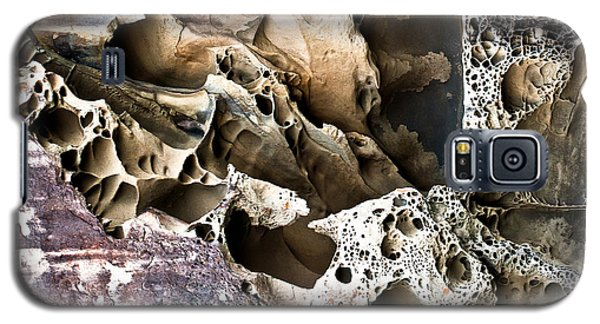 Galaxy S5 Case featuring the photograph Sandstone Abstract by Crystal Hoeveler