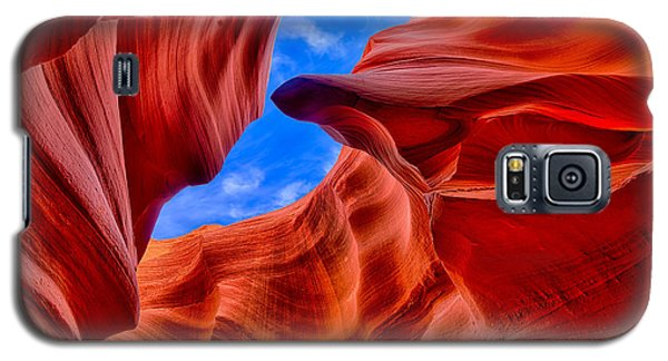 Sandstone Curves In Antelope Canyon Galaxy S5 Case