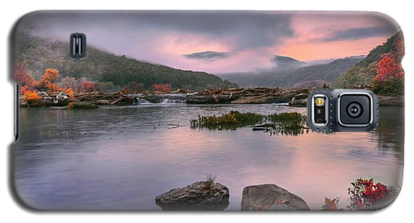 Sandstone Falls At Dawn Galaxy S5 Case