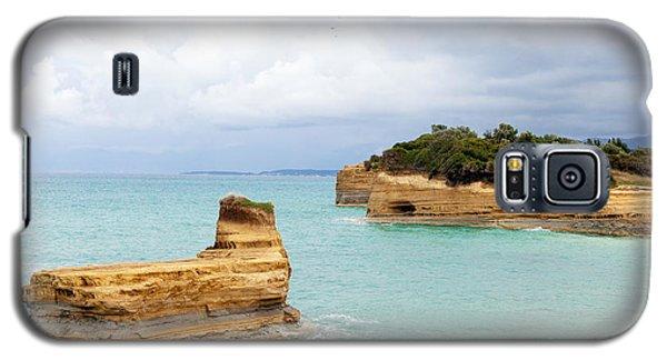 Sandstone Island Galaxy S5 Case by Paul Cowan