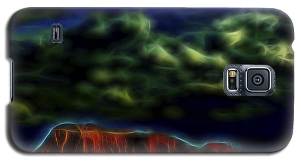 Galaxy S5 Case featuring the digital art Sandstone Monolith 1 by William Horden
