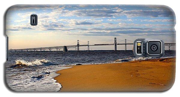 Sandy Bay Bridge Galaxy S5 Case