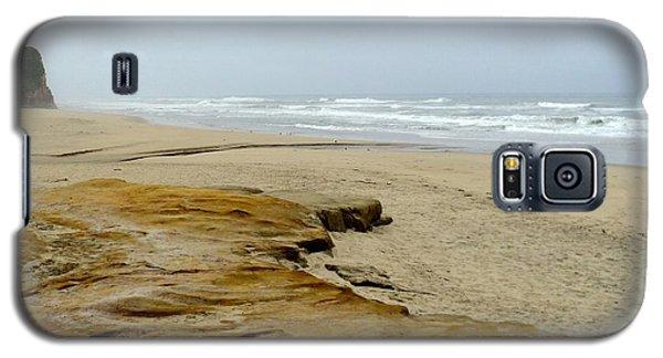 Galaxy S5 Case featuring the photograph Sandy Beach by Carla Carson