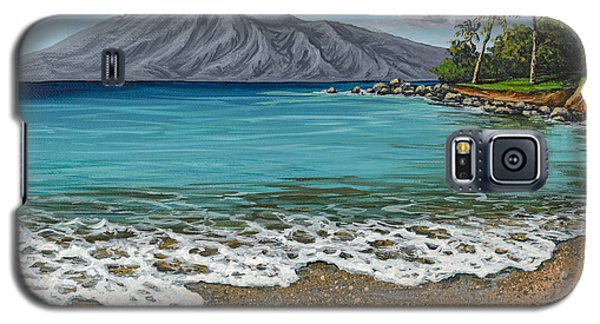 Galaxy S5 Case featuring the painting Sandy Beach by Darice Machel McGuire