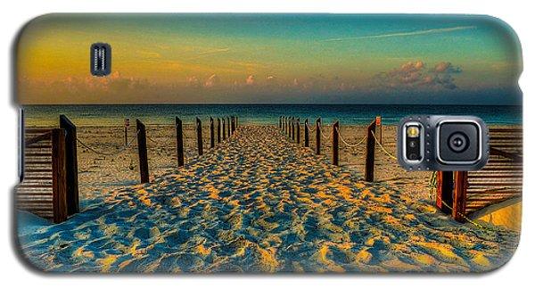 Sandy Beach Galaxy S5 Case by Maddalena McDonald