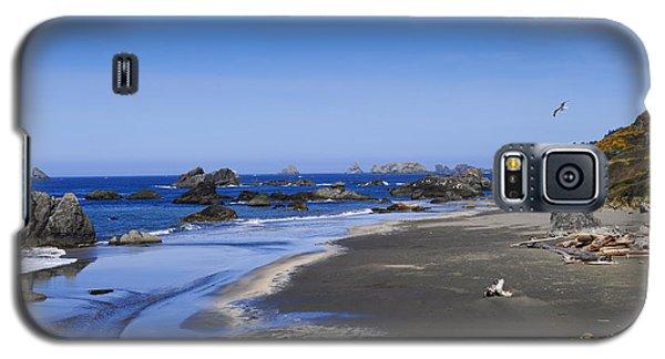 Sandy Beach On The North Coast Galaxy S5 Case