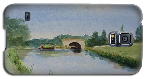 Galaxy S5 Case featuring the painting Sandy Bridge by Martin Howard