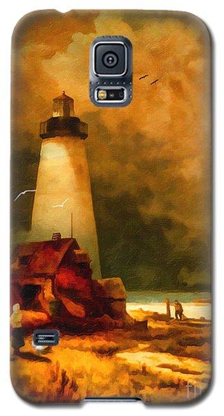 Sandy Hook Lighthouse - After Moran Galaxy S5 Case