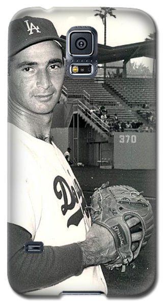 Sandy Koufax Photo Portrait Galaxy S5 Case