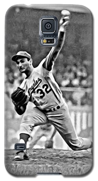 Sandy Koufax Throwing The Ball Galaxy S5 Case