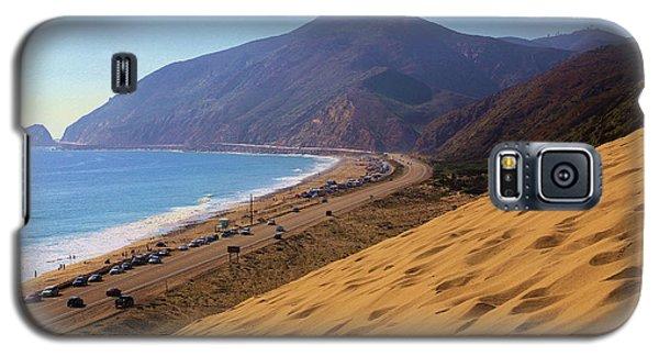 Sandy Mugu Point Looking North Galaxy S5 Case