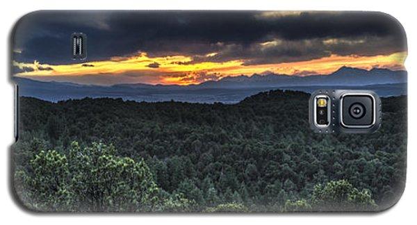 Sangre De Cristo Galaxy S5 Case - Sangre De Cristo Mountains by Aaron Spong