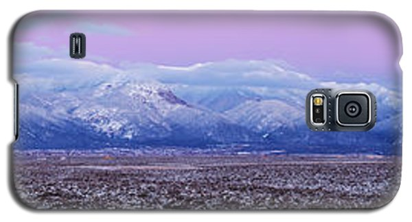 Sangre De Cristo Galaxy S5 Case - Sangre De Cristo Range After Sunset by Panoramic Images