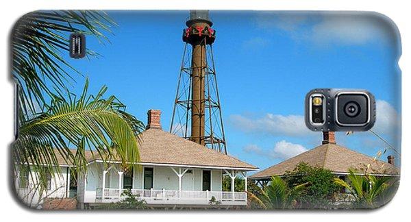 Sanibel Lighthouse At Christmas Galaxy S5 Case by Melinda Saminski