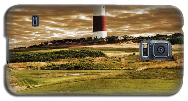 Sankaty Head Lighthouse In Nantucket Galaxy S5 Case by Mitchell R Grosky