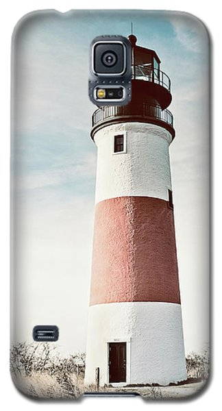 Sankaty Head Lighthouse Nantucket  Galaxy S5 Case by Marianne Campolongo