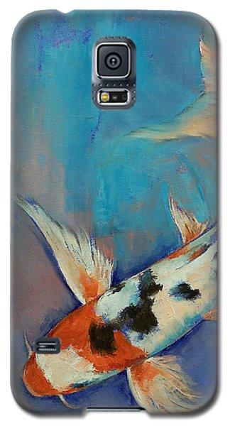 Sanke Butterfly Koi Galaxy S5 Case