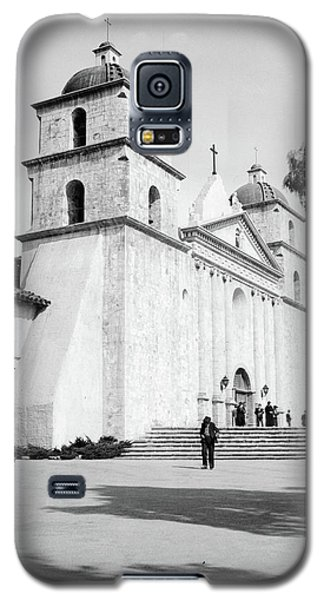 Galaxy S5 Case featuring the painting Santa Barbara, 1936 by Granger