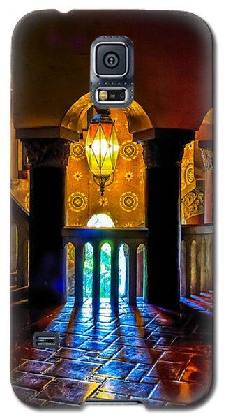 Santa Barbara Courthouse Glow Galaxy S5 Case
