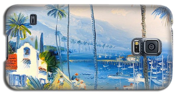 Santa Barbara Harbor Galaxy S5 Case