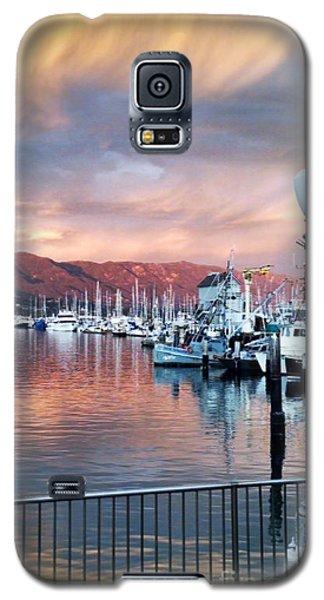 Santa Barbara Harbor Sunset Galaxy S5 Case